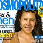 Fotomontaje en la famosa revista Cosmopolitan