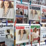 Fotomontaje en periódico
