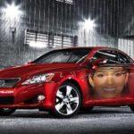 Fotomontaje gratis en un auto