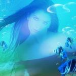 Fotomontaje en el mar