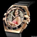 Fotomontaje en reloj
