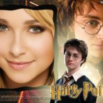 Fotomontaje en marco junto a Harry Potter