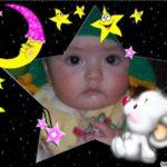 Fotomontaje en marco para fotos infantil