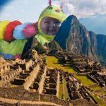 Realiza fotomontajes en Scrapee.net, marco de foto-Machu Picchu