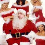 Fotomontaje en rostro de Papá Noel