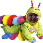 Fotomontaje para niños en disfraz de abejita