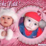 Marco para fotos junto a un bebé