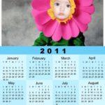 Fotomontajes gratis en calendarios 2011