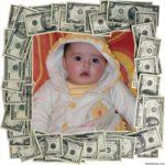 Marco para fotos de dolares