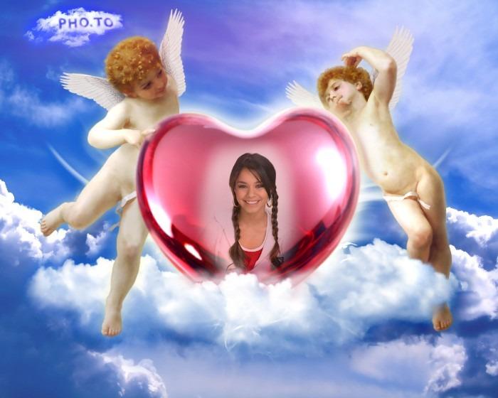 Fotomontje-angel