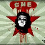 """Fotomontaje en el rostro de Ernesto """"Che"""" Guevara"""
