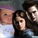 Fotomontaje junto a protagonistas de la película Crepúsculo