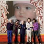 Fotomontaje junto a los artistas de la banda Rolling Stones