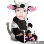 Fotomontaje en disfraz de vaca