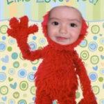 Fotomontaje con el rostro de Elmo