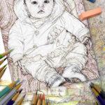 Fotomontaje para colorear y pintar