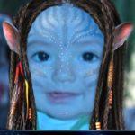 "Fotomontaje con película ""Avatar"""