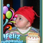Tarjeta de cumpleaños gratis en fotoefectos.com