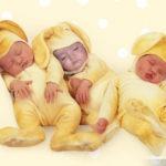 "Fotomontaje ""bebes durmiendo"""