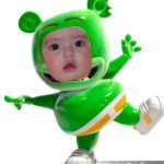 Fotomontaje de Gummy Bear (Osito Gominola)