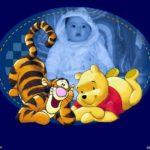 Fotomontaje con Winnie pooh y Tiger