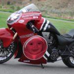 Fotomontajes gratis en español en una moto