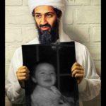 Fotomontaje  con Osama Bin Laden