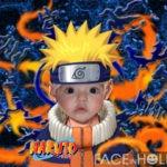 Fotomontaje infantil con Naruto