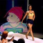 Fotomontaje gratis en un desfile de modas