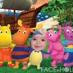 Fotomontaje infantil con los backyardigans