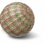 Crear fotomontaje gratis en un globo