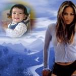 Fotomontaje gratis con foto de Jennifer Lopez