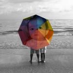 Fotomontaje online en paraguas
