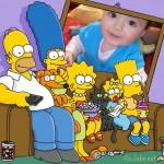 Fotomontaje con la familia simpson gratis