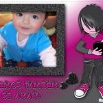 Fotomontaje de Emo en Fotomolduras.com