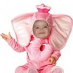 "Fotomontaje gratis ""disfraz infantil de elefante"""