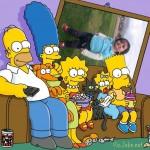 Fotomontaje con los Simpson en Picjoke.com