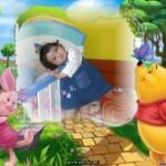 Fotomontajes infantiles online con Winie Pooh