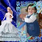 Marco para fotos infantiles barbie