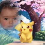 Hacer un fotomontaje gratis con Pikachu en scrapee.net