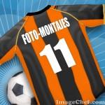 Realiza tu camiseta de fútbol en Imagechef.com