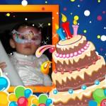 Fotomontaje online de cumpleaños en Scrapee.com
