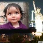 Crear fotomontaje junto a la estatua de la libertad