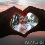 Fotomontaje online de amor en Faceinhole.com