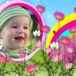 Realiza fotomontajes online con flores