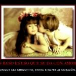Motivación: Un beso es eso que se da con amor