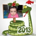 Fotomontajes de navidad y año nuevo