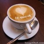 Forma divertidas frases en un Cappuccino