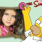 Fotomontaje online con Homero Simpson