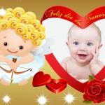 Fotomontaje  por el Día de San Valentin
